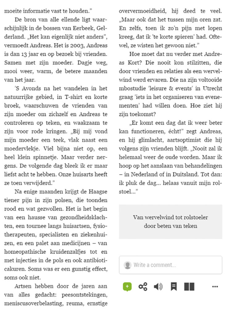 Interview Telgraaf 2