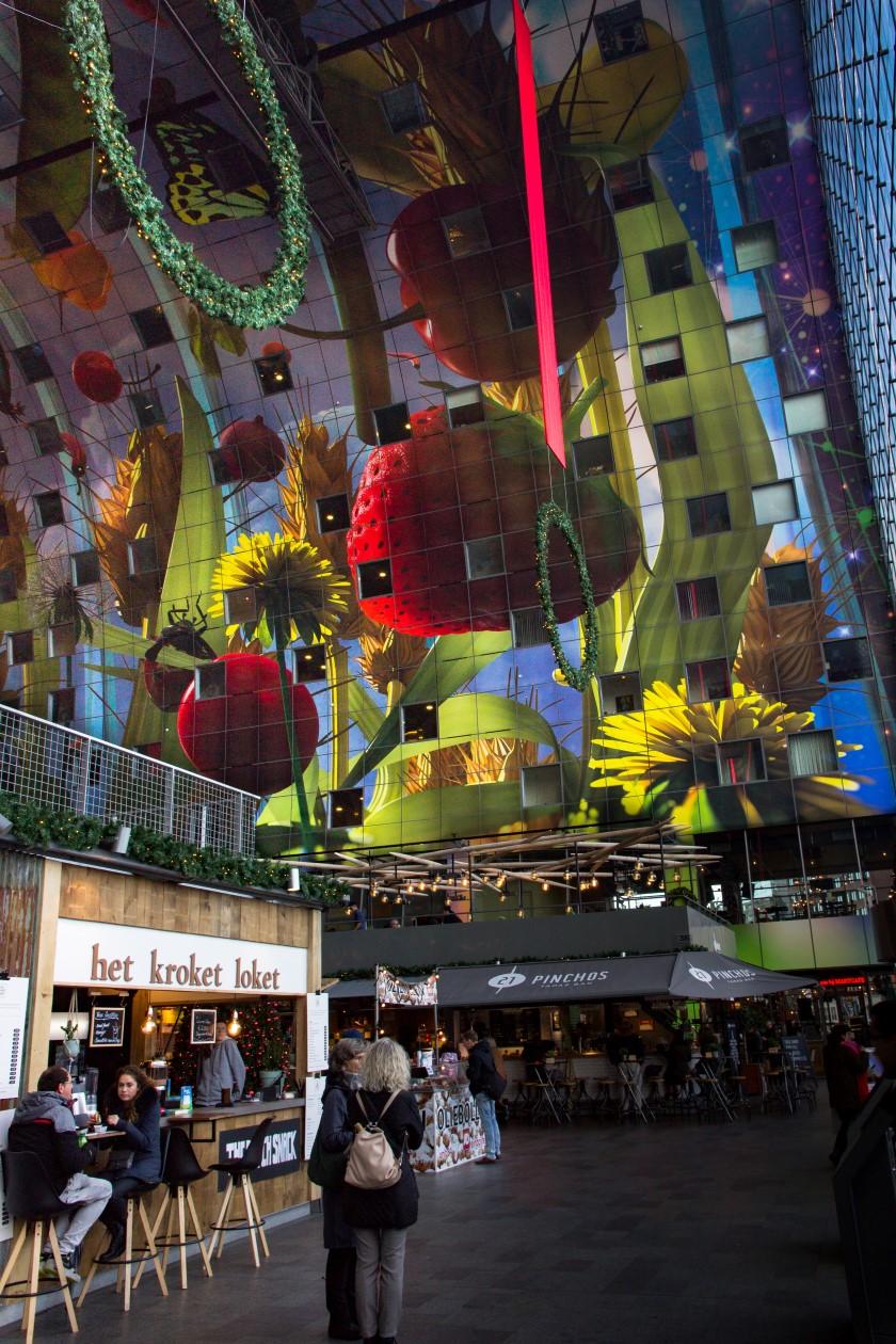 Het kroket loket in de Rotterdamse Markthal