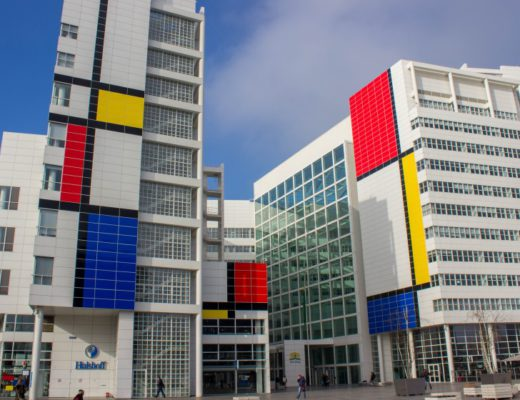 Mondriaan op Haags Stadhuis