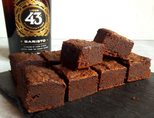 Brownie met Licor 43 Baristo