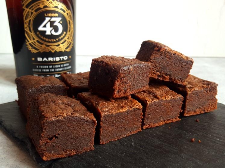 Brownie met Licor 43 Baristo