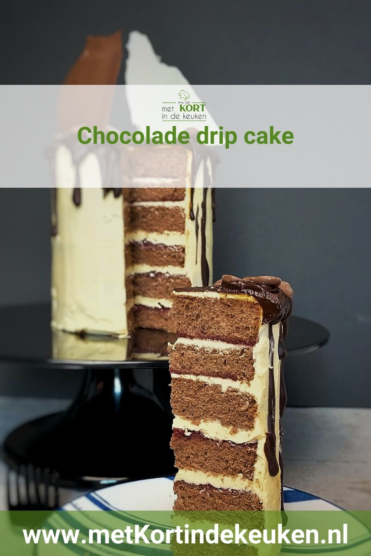 Chocolade drip cake