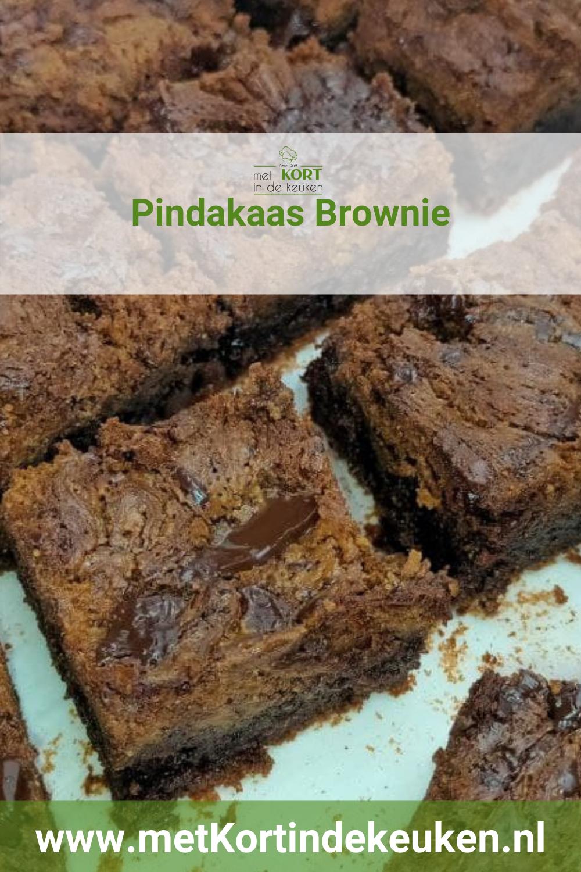 Pindakaas Brownie