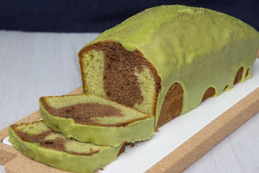 matcha marmercake