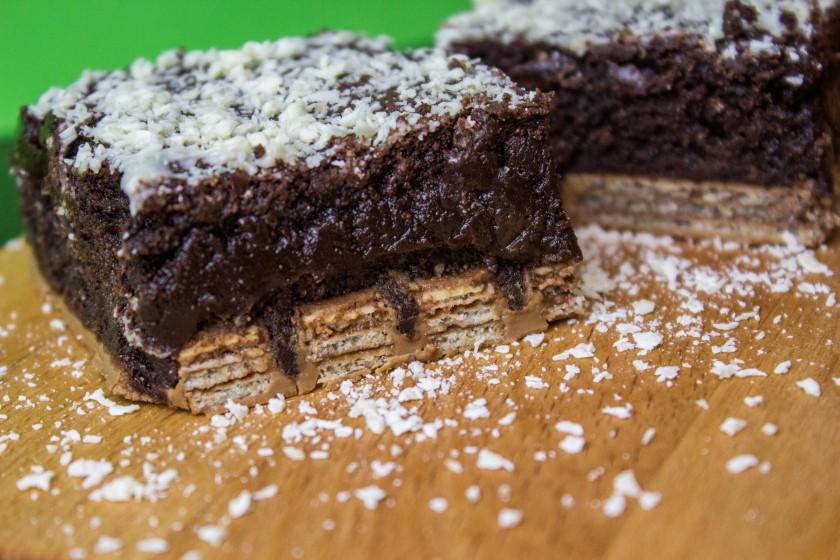 Kitkat brownies